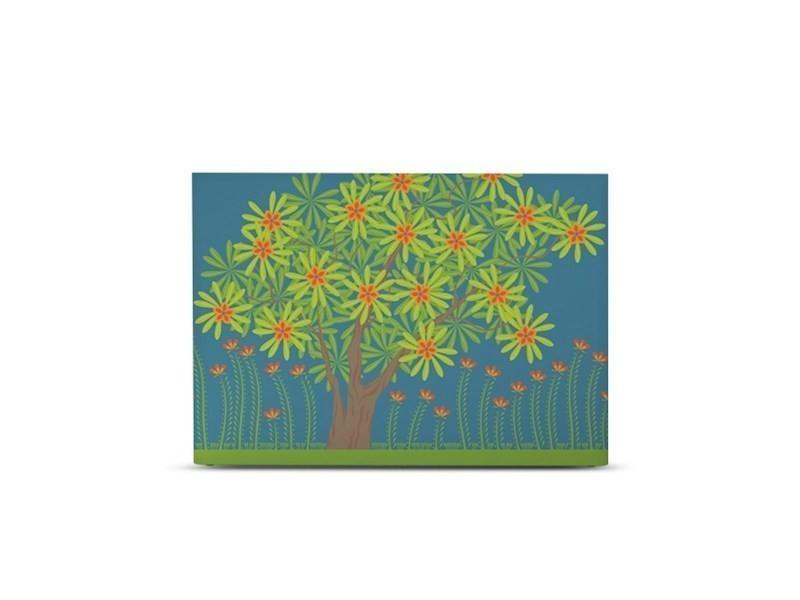 tête de lit myquintus ready et housse décorée - fleurs d'inde - 140