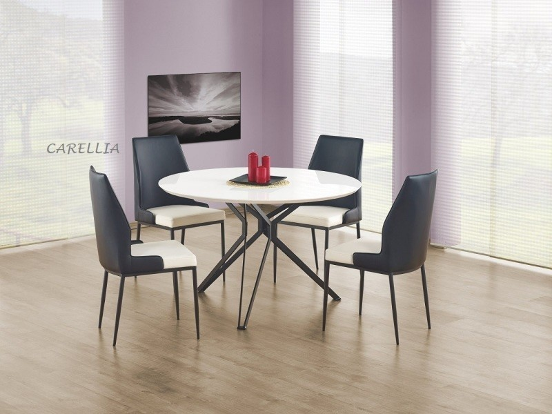 Table à manger ronde ø : 120 cm