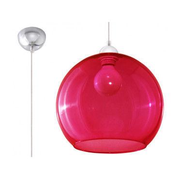 Suspension ball verreacier rougechrome 1 ampoule Vente