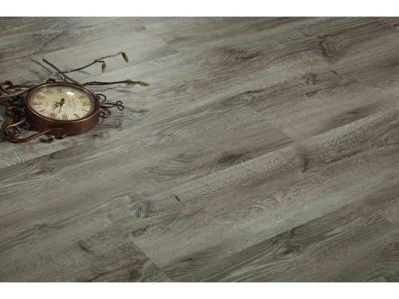 lames de sol pvc clipsables 3 3 m 4 mm bois gris. Black Bedroom Furniture Sets. Home Design Ideas