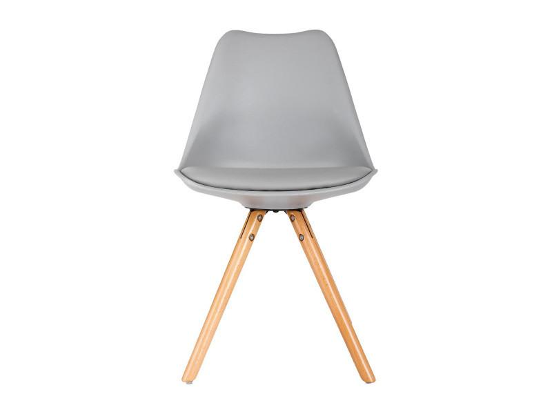 Chaise raku gris Vente de ATMOSPHERA Conforama