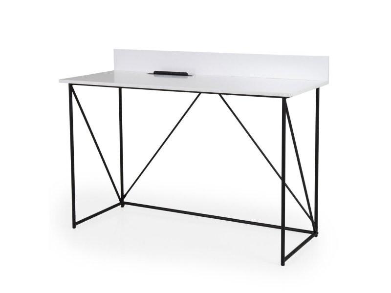 Bureau design en bois et métal 120cm corsa 9001403801
