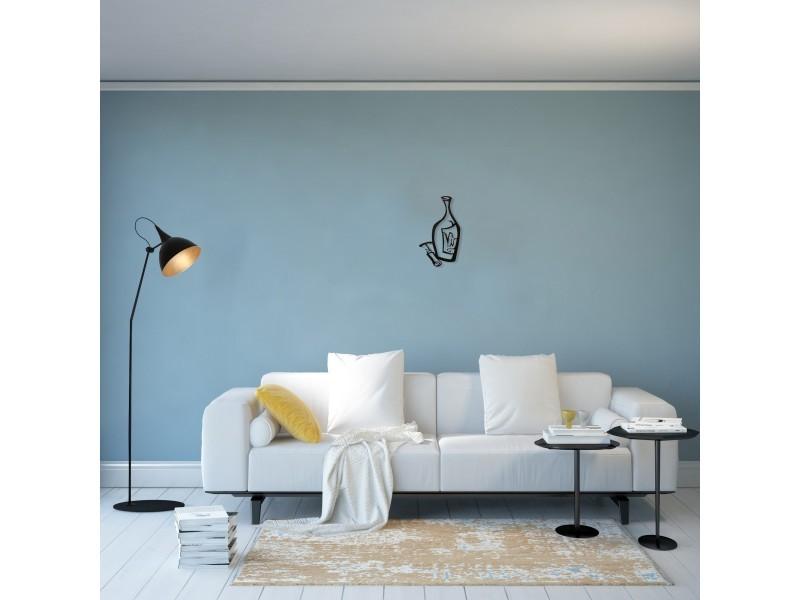 Homemania Decoration Murale Bouteille Art Mural Vin Pour