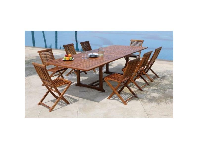 Salon de jardin - ensemble table chaise fauteuil de jardin mexico ...