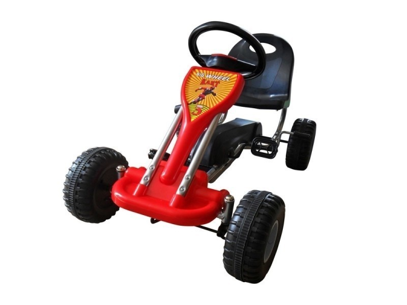 Gokart Rouge Voiture À Kart Enfant Jouets Cm 89 Pédale Jeux EDI2WH9