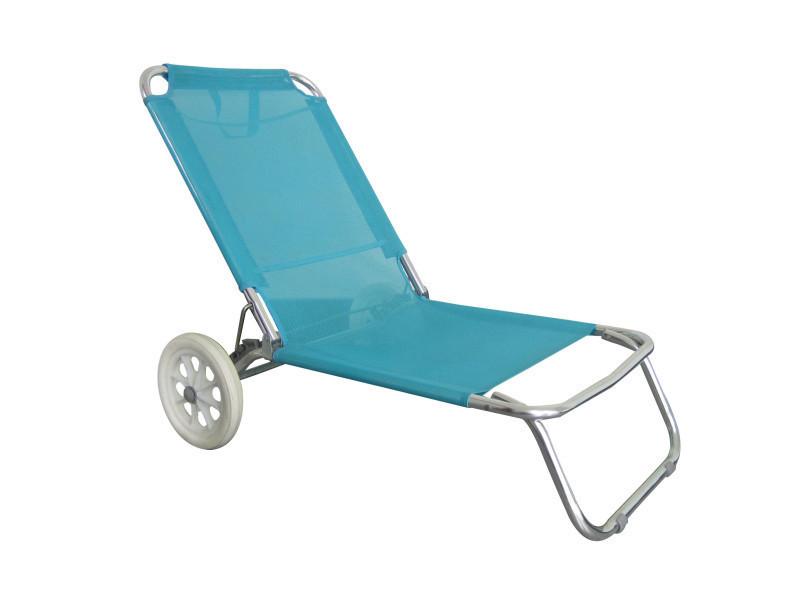Chaise De Plage Avec Roulettes