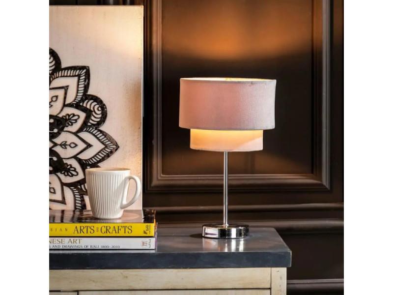 L H 34 Neuf Lampe De Chevet Rose X Cheju 20 Tissu ZuTikXOP