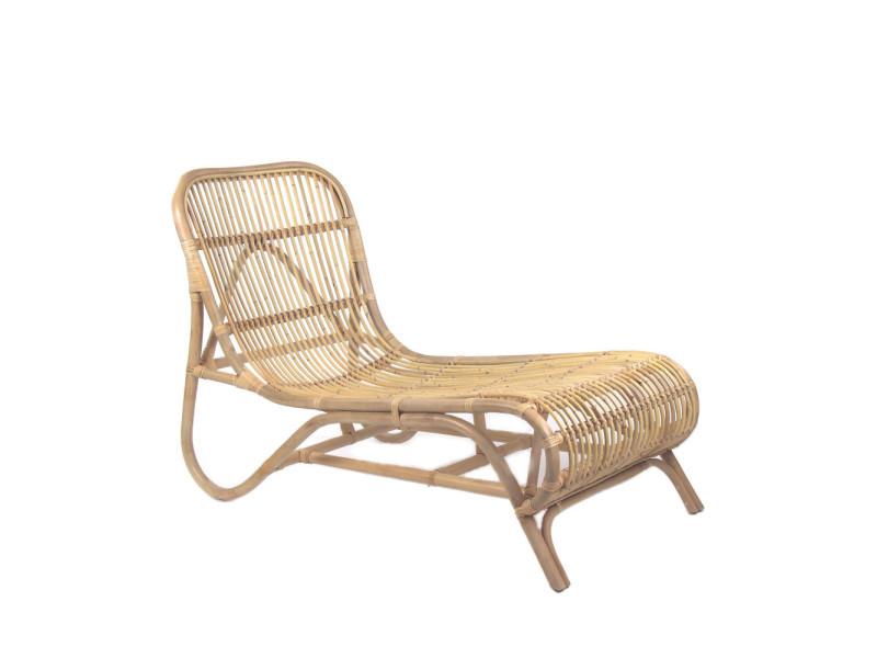 Kim - chaise longue en bambou - couleur - naturel 34007 - Vente de ...