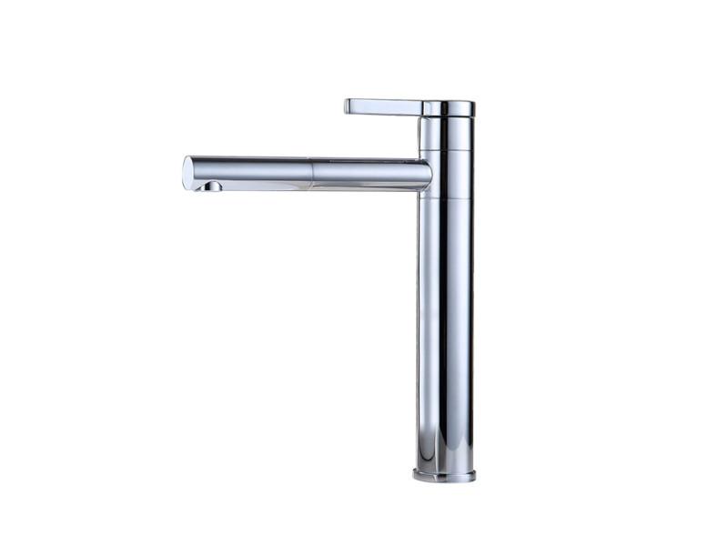 Homelody robinet salle de bain haut bec pivotant 360° mitigeur pour ...