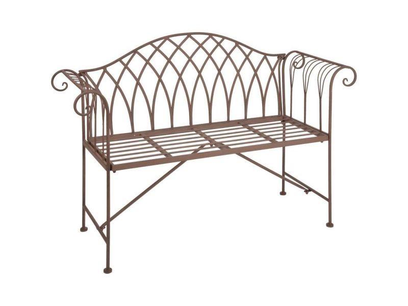 Esschert Design Banc De Jardin Métal Style Old England Mf009