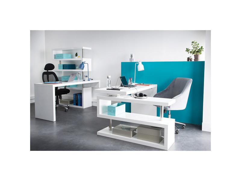 Design d intérieur bureau design noir laque blanc laquac