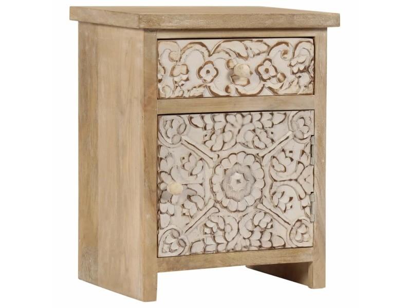 joli tables edition bruxelles table de chevet bois de. Black Bedroom Furniture Sets. Home Design Ideas