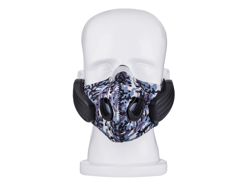 masque anti pollution motif