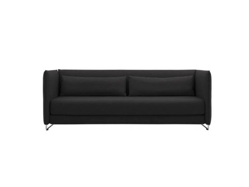 Canapé lit design metro 3 places en tissu gris anthracite softline 20100872776