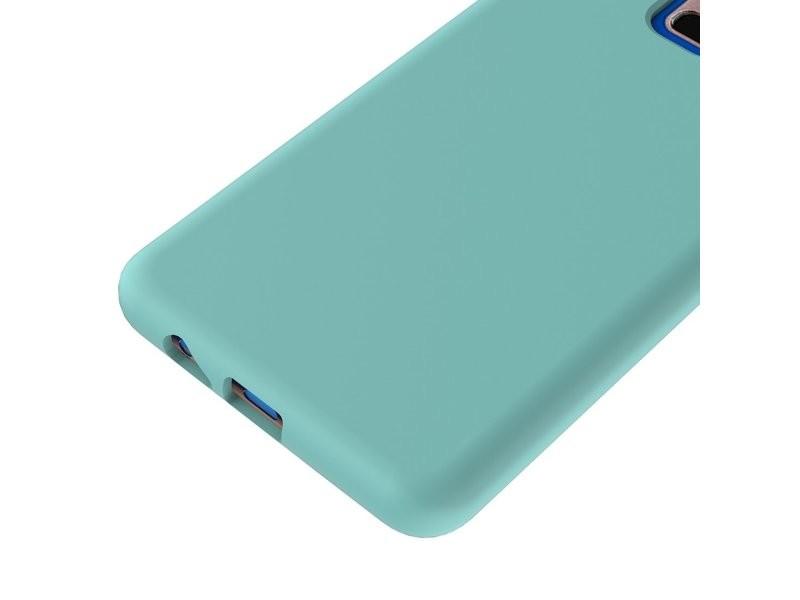 coque en silicone de couleur pour samsung a8