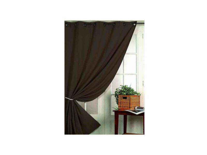 rideau isolant thermique 140 x 260 cm vente de rideau. Black Bedroom Furniture Sets. Home Design Ideas