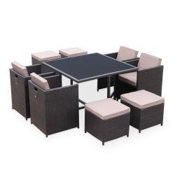Ensemble table et chaises de jardin - Mobilier de jardin - Jardin ...