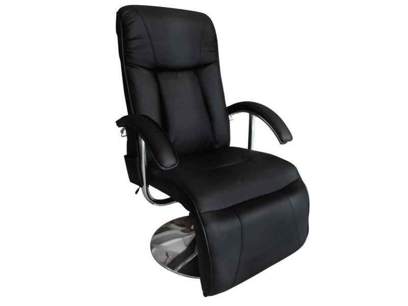 Relaxant Massant Détente Fauteuil Massage De Confort Noir kOPZiuTX