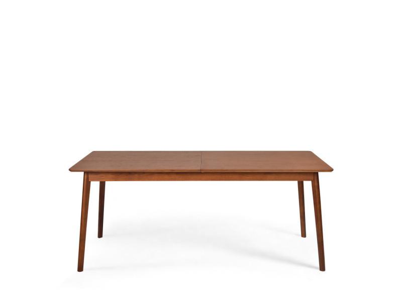 À 230x80cm Couleur Manger 180 Extensible Skoll Noyer Table TlFKc13J