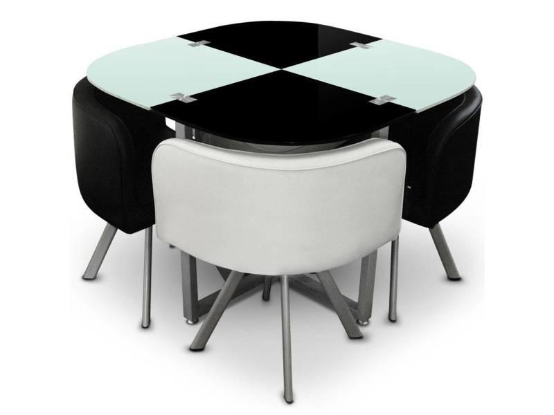 chaise et table mosaic