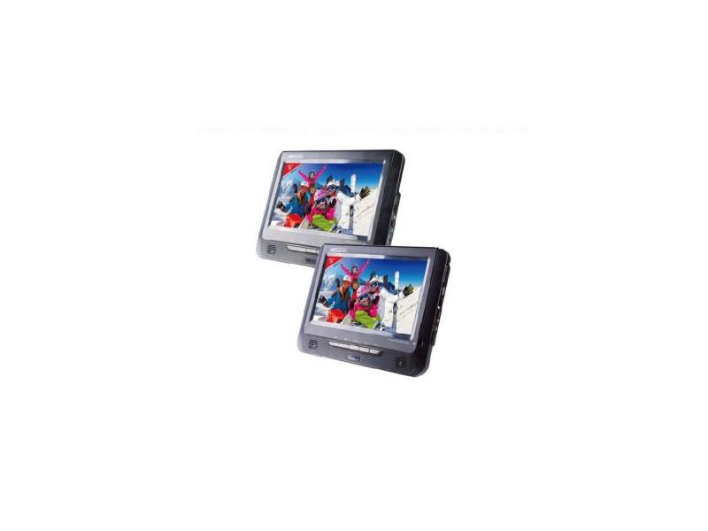 Takara Vrt199 Lecteur Dvd Portable 2 Combinés 9 Vente De