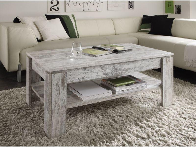Coloris Revêtue Design Cm Basse Table 110 En De Bois Mélamine Pin Ybf7g6yv