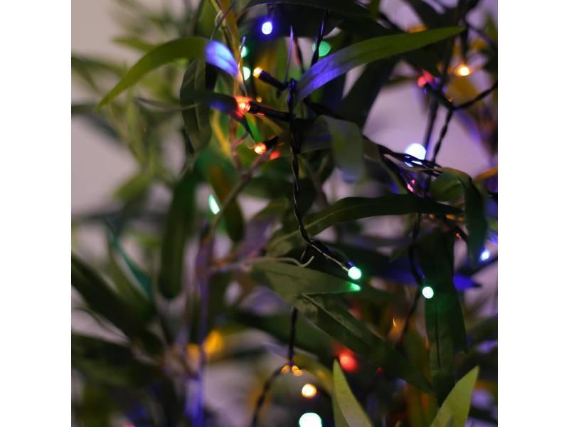 Guirlande Lumineuse Solaire Extérieure De Noël 15m De Long