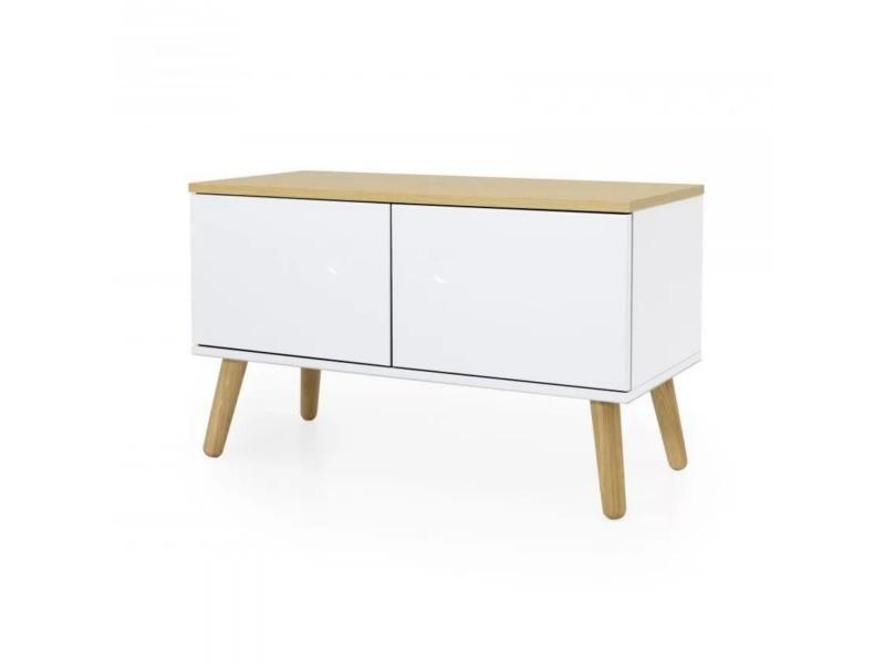 Petit meuble de rangement en bois zenio 9001642450