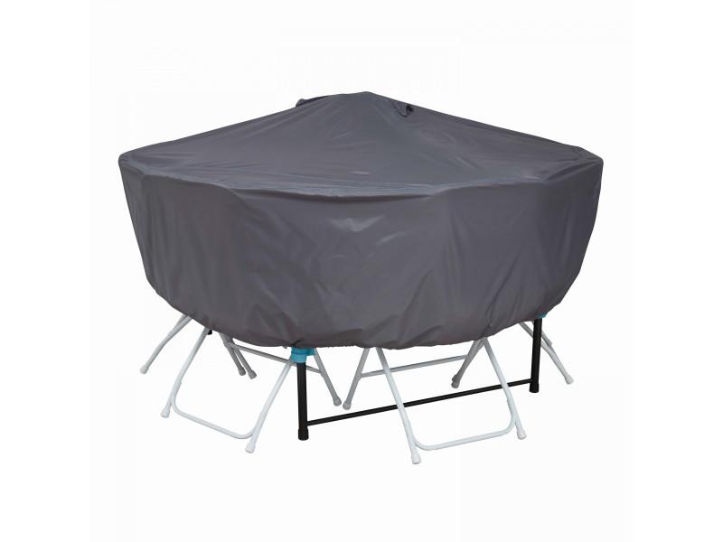 Housse de protection table ronde 160 cm - Vente de Accessoires ...