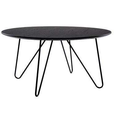 Table basse ronde alta noire vente de table basse - Table basse ronde conforama ...