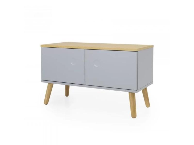 Petit meuble de rangement en bois zenio 9001642512