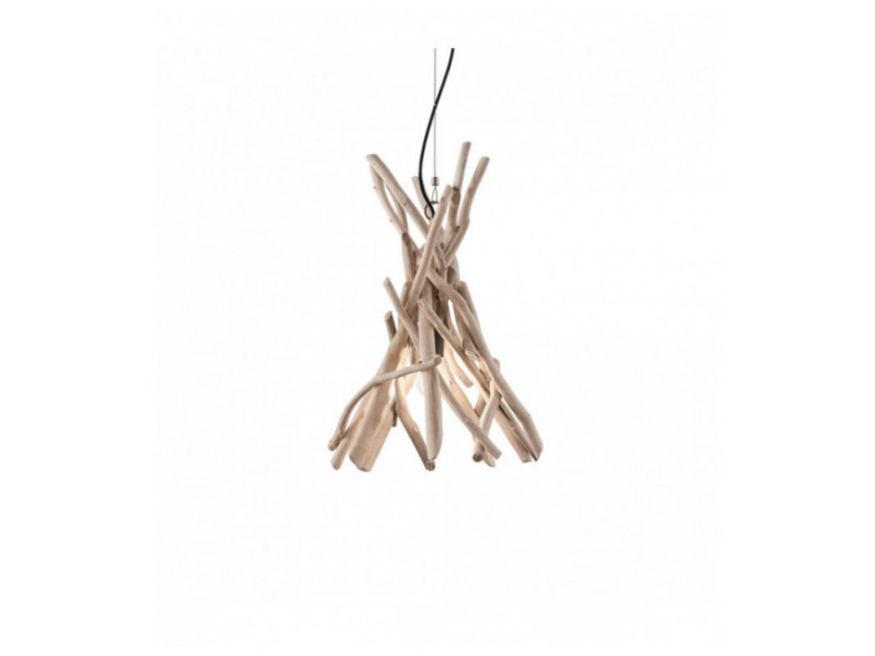 1 Driftwood Luminaire Center Bois Ampoule Vente Suspension De R354jLcAq