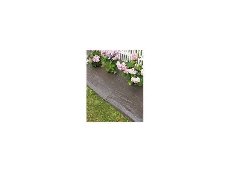 toile paillage marron 1 25x25m weedsol 90gr m2. Black Bedroom Furniture Sets. Home Design Ideas