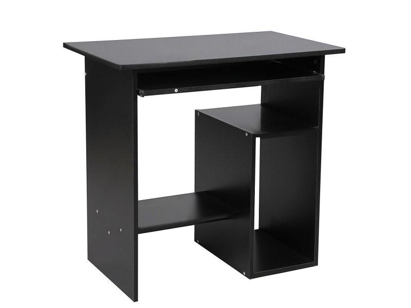 Bureau table informatique table avec support clavier coullissant