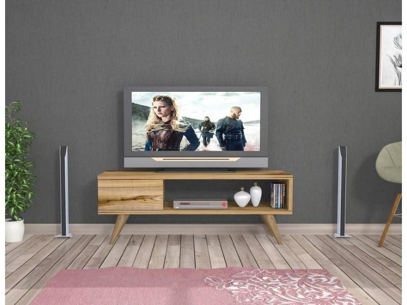 Homemania meuble tv maya moderne murale - avec tiroir ...