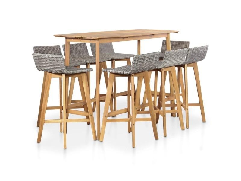 Contemporain meubles de jardin selection la valette ensemble ...