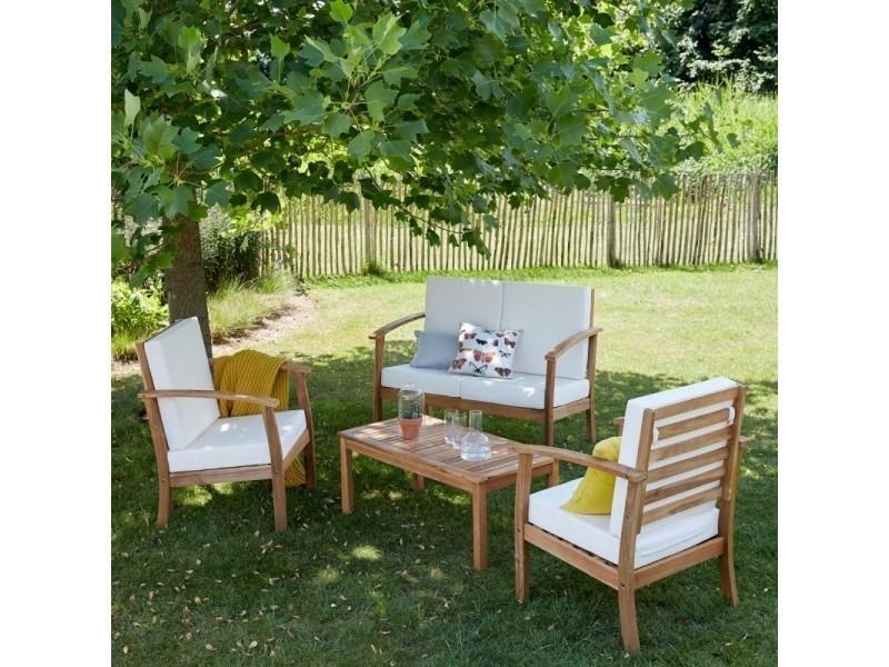 Salon de jardin en bois conforama - Reconquetefrancaise.fr