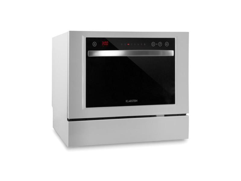 Lave-vaisselle - klarstein amazonia 6 luminance - pose libre - largeur : 55 cm - hauteur : 43.5 cm - blanc
