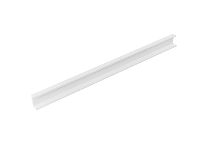 [en.casa] étagère murale blanc mat design rétro model 11