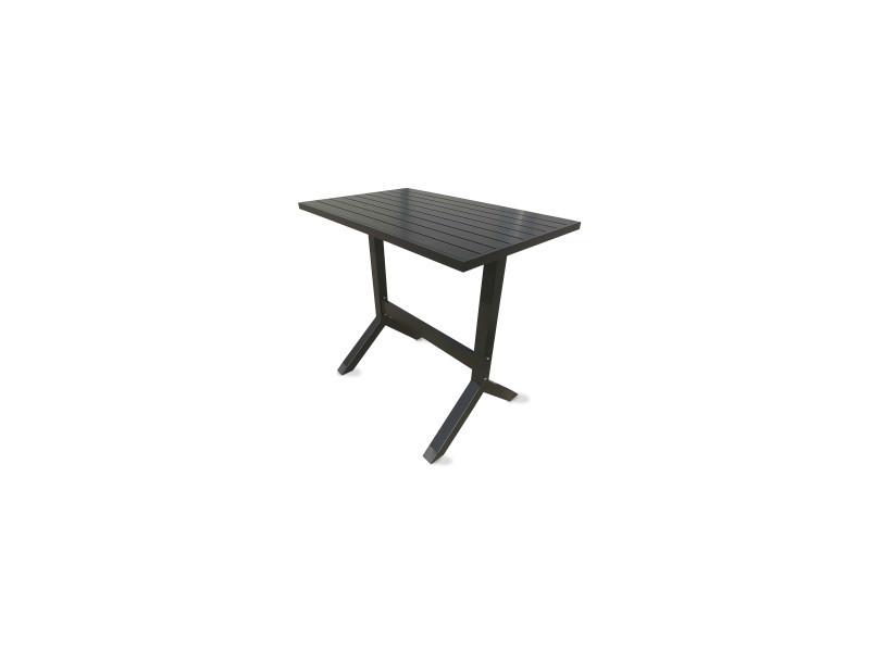 Table haute de jardin en aluminium - Vente de Table - Conforama