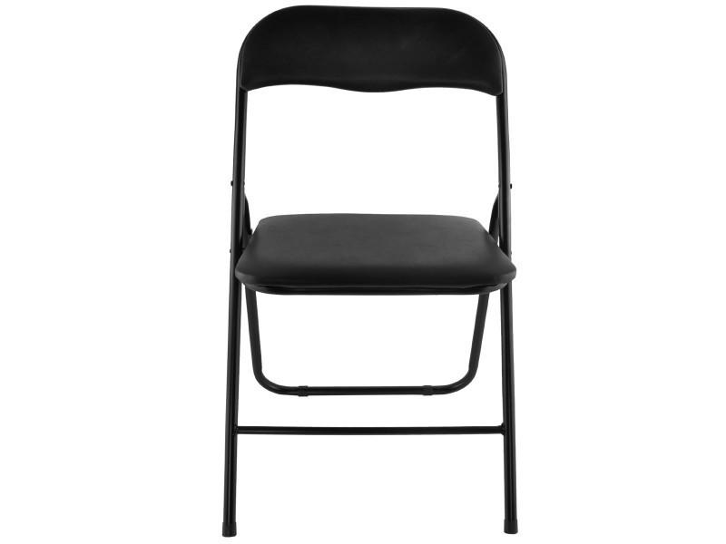 assise chaises avec 4 d'appoint de rembourrée pliantes Lot J3TKcFl1u