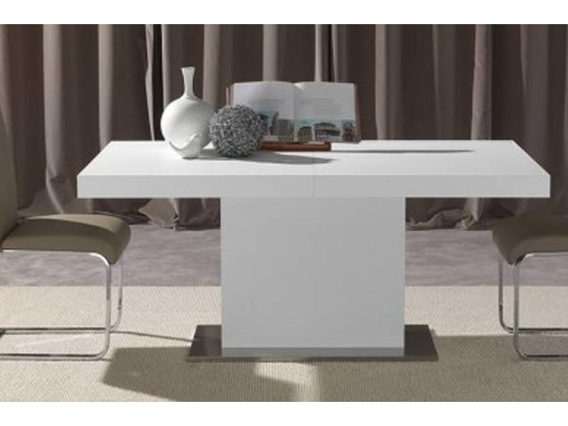 Table repas design extensible domus blanche 20100850613
