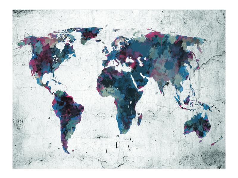 Carte Conforama Papier.400x309 Papier Peint Carte Du Monde Joli World Map On The
