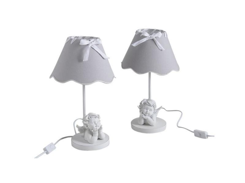 Gaspard Modèle Vente Chevet Ange Conforama Lampe Aubry De 2 ARq5L34j