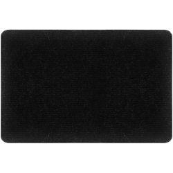 Paillasson ramasse tout tapis entrée passage design moquette noir 40x60cm
