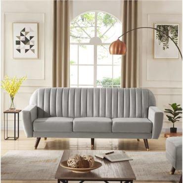 Canape Convertible Ernest Places Droit Canapé Divan Sofa 3 PnOw0k