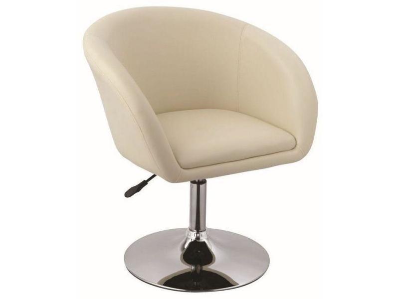 Fauteuil Siège Design Pivotant Cuir Synthétique Chaise Lounge Nw8nOPk0X