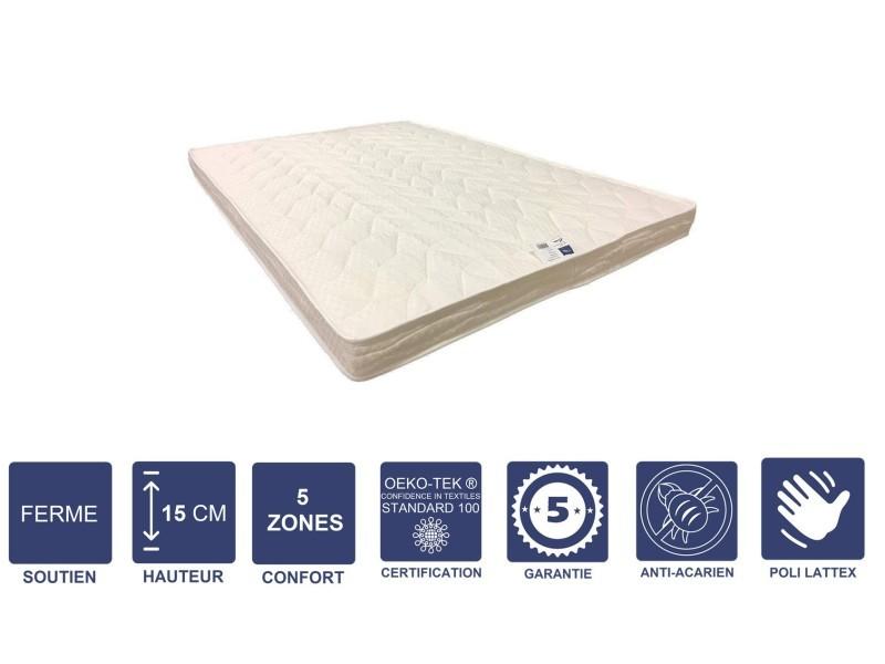 De Ferme Pour Confort Lit 5 120x200 X Matelas Canapé Cm Zones 15 SVUMpqz