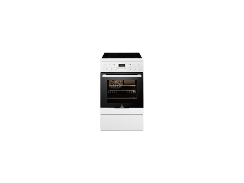 Cuisinière électrique 54l 4 feux blanc - ekc54350ow ekc54350ow