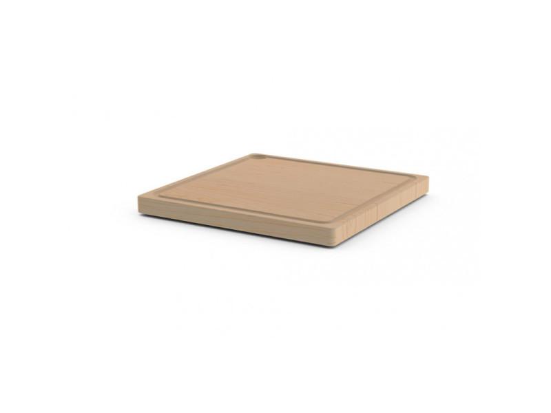 Planche bois tronqué - 300 x 300 - grill'chic
